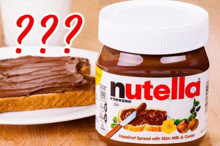 Nutella quiz