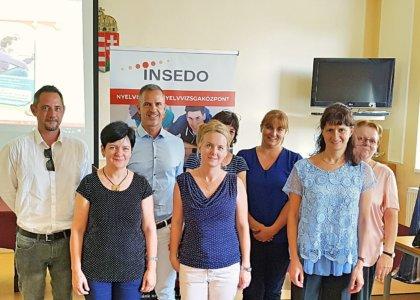 Az Insedo Nyelviskola és a Veszprémi Szakképzési Centrum ingyenes NYELVTANÁRI FÓRUMOT szervezett
